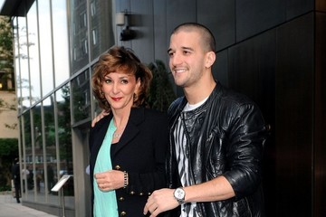 Shirley Ballas Mark Ballas Holds Hands With His Mom
