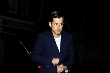 Mark Ronson Celebs Arrive at Chiltern Firehouse