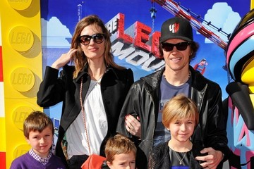 "Mark Wahlberg Ella Wahlberg ""The Lego Movie"" Premiere"