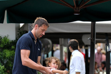 Marko Jaric Marko Jaric and Adriana Lima with Their Daughter