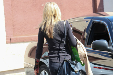 Marla Maples Marla Maples at the 'DWTS' Studio