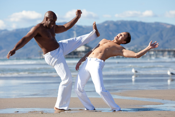 Mark Dacascos Pictures - Mark Dacascos Takes Capoeira Lessons - Zimbio