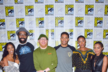 Marvin Jones 2019 Comic-Con International - 'Black Lightning' Photo Call