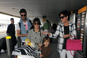 Mason Disick The Kardashians Prepare to Leave London
