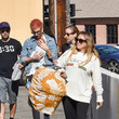 Matthew Koma Hilary Duff Is Seen Out With Her Boyfriend And Newborn Baby Girl