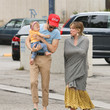 Matthew Koma Hilary Duff Enjoys The Day With Her Family
