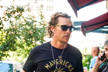 Matthew McConaughey Matthew McConaughey Is Seen Out and About in NYC