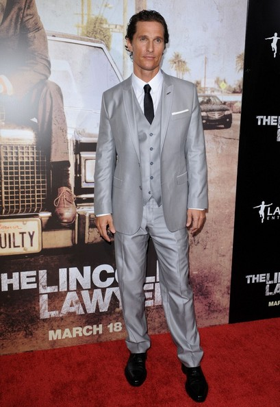 "Matthew McConaughey Los Angeles Premiere of ""Lincoln Lawyer"".ArcLight Theatre, Hollywood, CA.March 10, 2011."