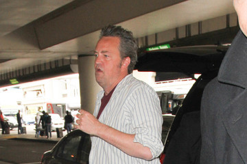 Matthew Perry Matthew Perry Is Seen at LAX