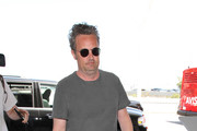 Matthew Perry Is Seen at LAX