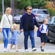 Max Corden James Corden Embarks On An Outing With His Family