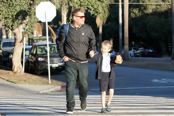 Max Corden James Corden Goes Out With His Son Max