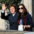 The McCartneys step out in Paris