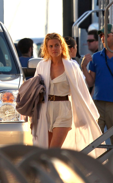 The new television show Charlie's Angels starts filming in Miami. Pictured Rachael Taylor.