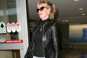 Melanie Griffith Melanie Griffith Is Spotted at LAX