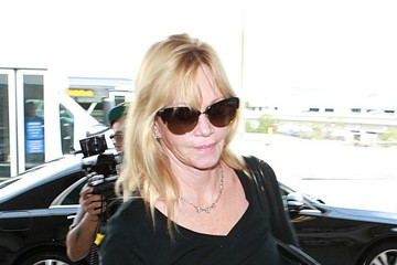 Melanie Griffith Melanie Griffith at LAX