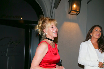 Melanie Griffith Melanie Griffith Is Seen Outside Craig's Restaurant in Beverly Hills