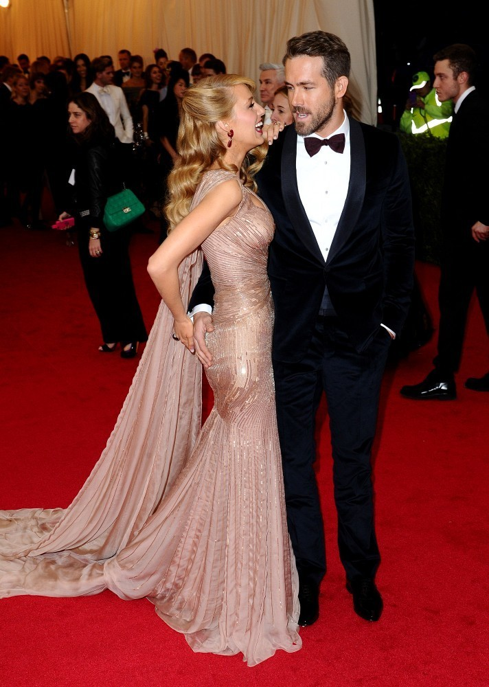blake lively and ryan reynolds photos photos red carpet