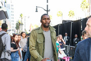 Metta World Peace is seen in Los Angeles, California.