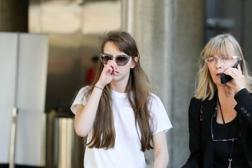 Mia Goth Mia Goth Arrives at LAX