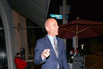 Michael Avenatti Michael Avenatti Outside Craig's Restaurant In West Hollywood