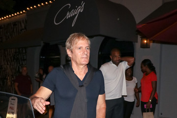Michael Bolton Michael Bolton Outside Craig's Restaurant In West Hollywood