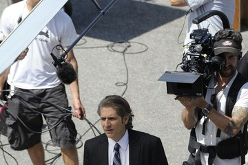 Michael Imperioli Michael Imperioli on the Set of 'The Hive'