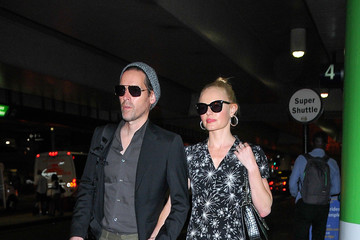 Michael Polish Kate Bosworth at LAX