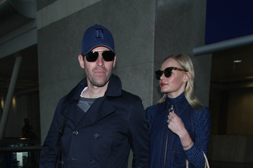 Michael Polish Kate Bosworth and Michael Polish Grab Flights at LAX
