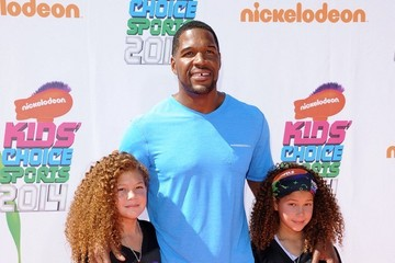 Michael Strahan Arrivals at the Nickelodeon's Kids' Choice Sports