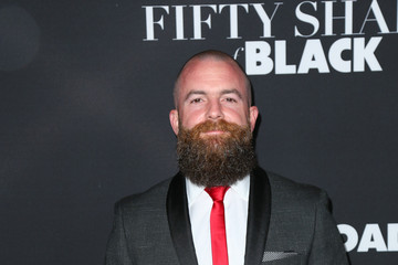 Michael Tiddes Celebrities Attend the 'Fifty Shades of Black Premiere'