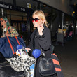 Michelle Collins Michelle Collins at LAX