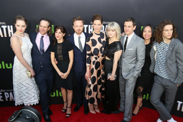 Michelle Monaghan Jessica Goldberg Celebrities Attend the Premiere of Hulu's 'The Path' at ArcLight Theatre