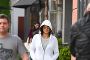 Michelle Rodriguez is seen in Los Angeles, California on December 13, 2018.