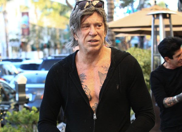 Mickey Rourke Is Seen After Lunch at Sunset Plaza - Zimbio Zac Efron Nyc