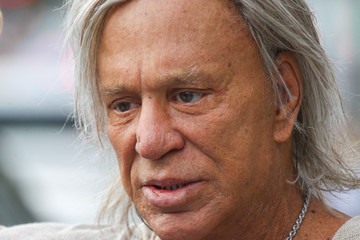Mickey Rourke Mickey Rourke Spends Time in L.A.