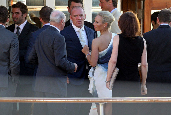 Mike Tindall Pictures Pre Wedding Reception Party On The