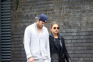 Mila Kunis Mila Kunis and Ashton Kutcher Take a Stroll