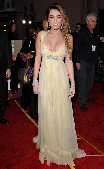 Miley Cyrus 2011 CNN Heroes: An All-Star Tribute.Shrine Auditorium, Los Angeles, CA. .December 11, 2011.
