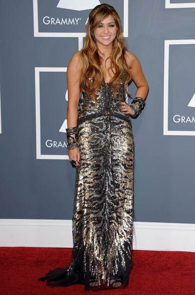 Miley Cyrus The 53rd Annual GRAMMY Awards.Staples Center, Los Angeles, CA.February 13, 2011.