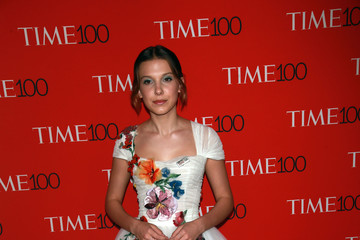 Millie Bobby Brown Stars Attend The Time 100 Gala In New York City
