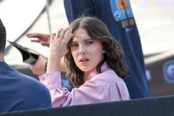 Millie Bobby Brown Millie Bobby Brown Appears on 'Extra'