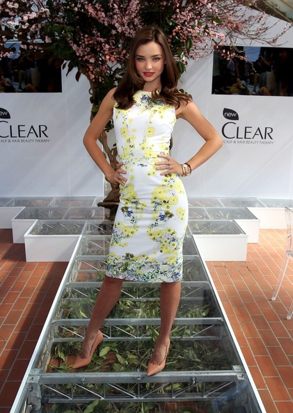 How to Get Miranda Kerr's Perfect Hair