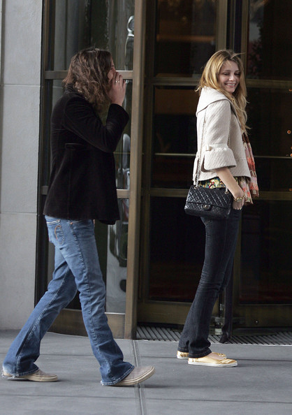 Mischa Barton and Cisco Adler in the West Village []