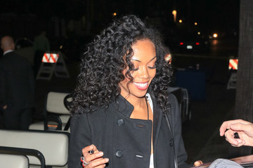 Mishael Morgan Mishael Morgan Outside the Hollywood Christmas Parade