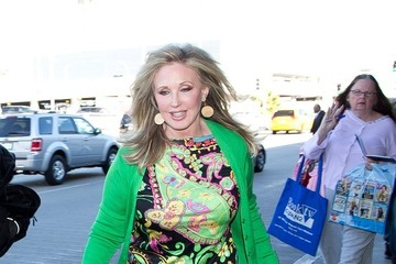 Morgan Fairchild Morgan Fairchild Arrives in LA
