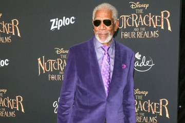 Morgan Freeman Premiere Of Disney's 'The Nutcracker And The Four Realms'