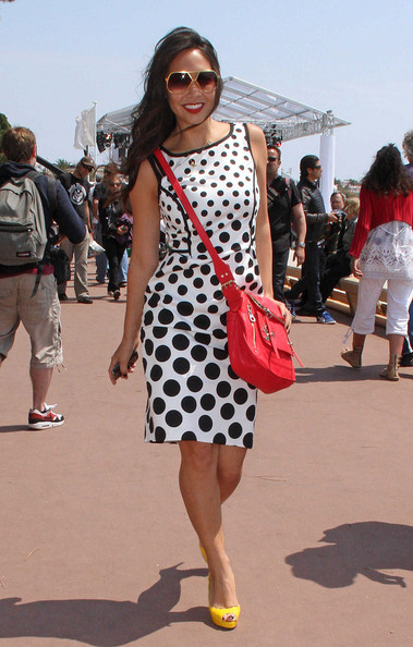 What to Wear with Black and White Polka Dot Shoes