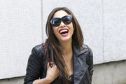 Myleene Klass Hangs Out in London