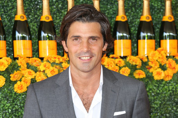Nacho Figueras Celebrities Arrive at the Sixth-Annual Veuve Clicquot Polo Classic